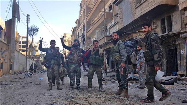 Syrian army, allies make fresh gains in southwestern Aleppo https://t.co/cqq5492sPb https://t.co/Uhoy2ocbyG
