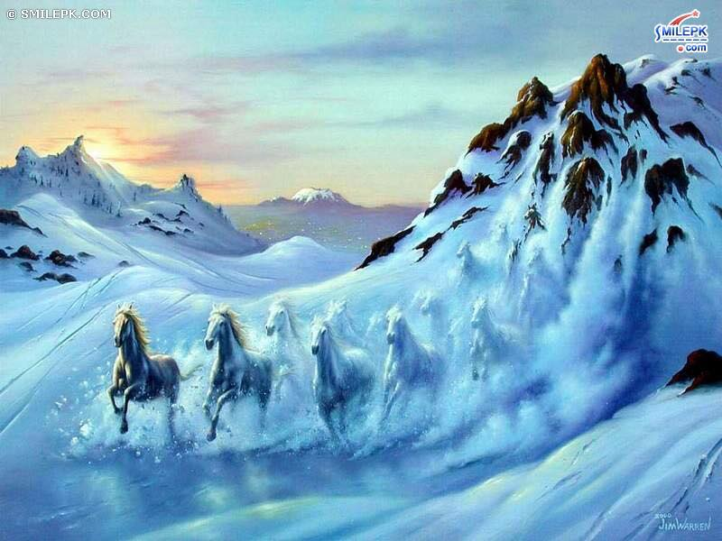 test Twitter Media - Where does inspiration come from?  Mountains set our imaginations on fire as mystical, magical galloping horses burst forth from snow covered peaks. #horses #magical #mountains, #winterwonderland #ellenrothauthor https://t.co/oqQbTuBWXs