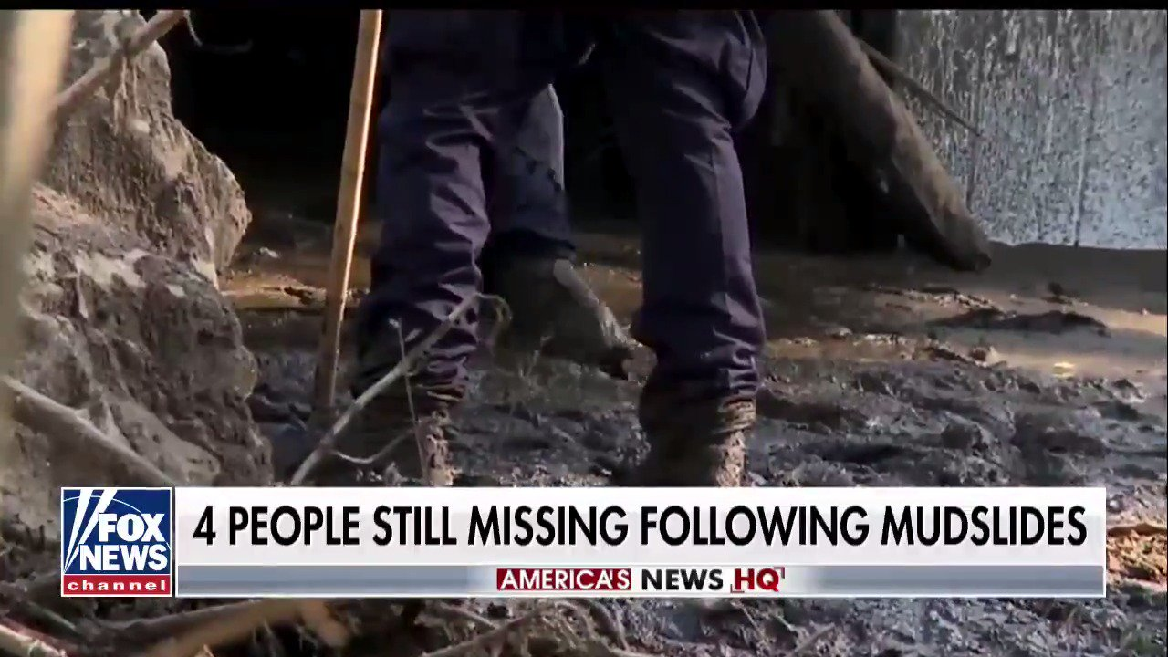 20 people killed in California's deadly mudslides https://t.co/ljWdYCcKUA https://t.co/QwfH4x0pA4