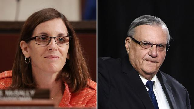 NEW: Arpaio and McSally bids set up brutal GOP Arizona primary https://t.co/bjk0HwmLru https://t.co/rkCew1eeXI