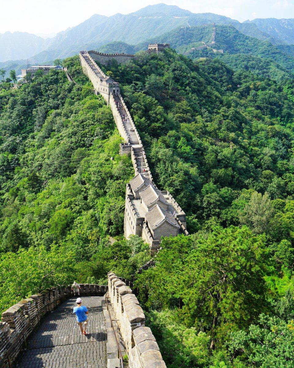 万里の長城 📷 the Great Wall . #万里の長城 #TheGreatWall #GreatWall #慕田峪 #慕田峪長城 #Mutianyu #Mutianyusection...