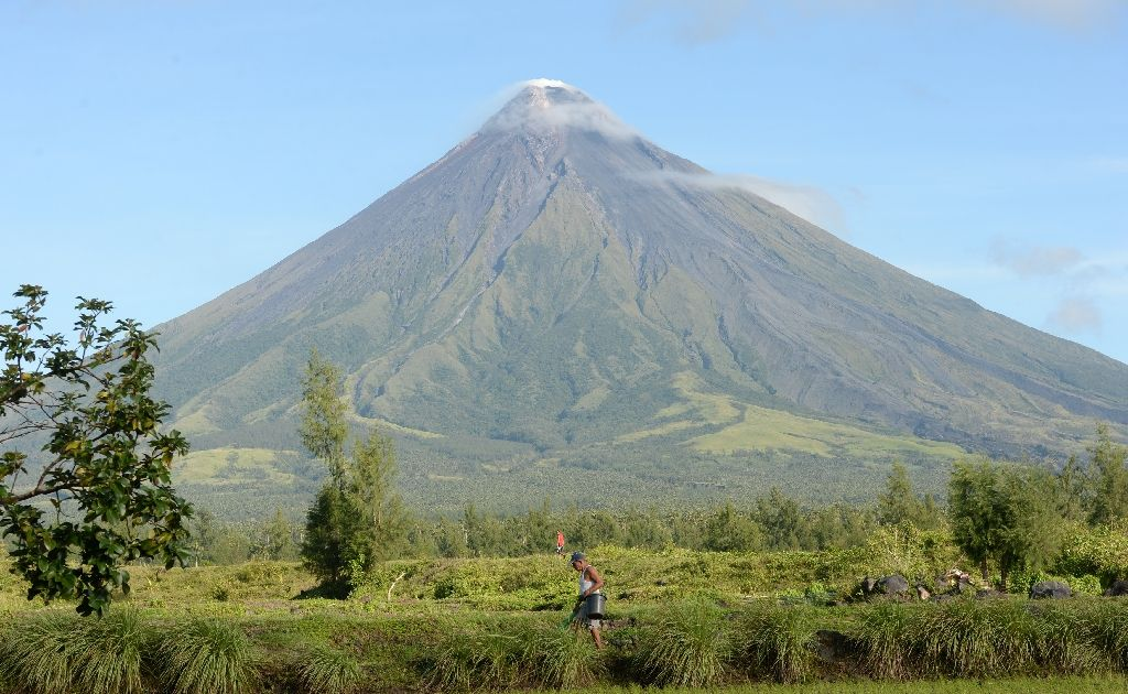 Philippines' Mayon volcano alert raised as eruption feared