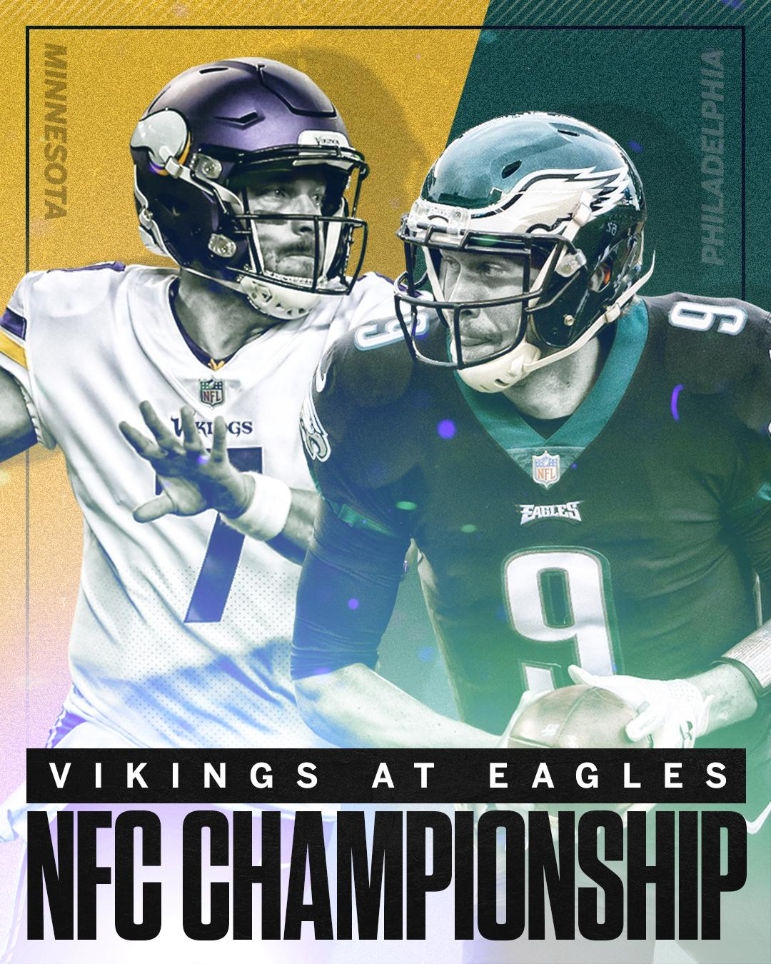 The NFC Championship is set. https://t.co/SP9luFmeiT