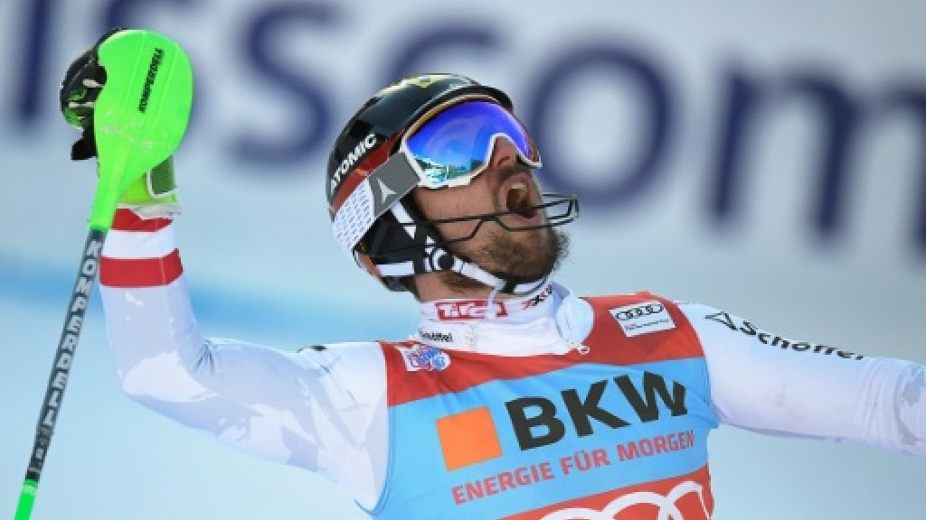 'Simply the best' Hirscher wins World Cup slalom at Wengen