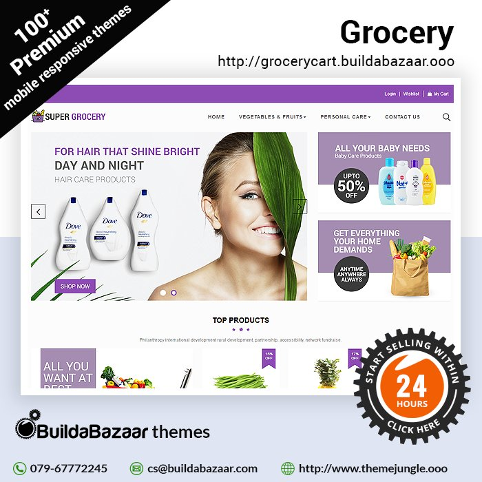 test Twitter Media - Grocessories are by far the most vital products for every household, that will change however once they log on to your stunning online store with attractive themes from https://t.co/bH01QTwNml https://t.co/yvPBy1ZVFq #infibeam #buildabazaar #themejungle #buildabazaarthemes https://t.co/fD5dgqmnBl