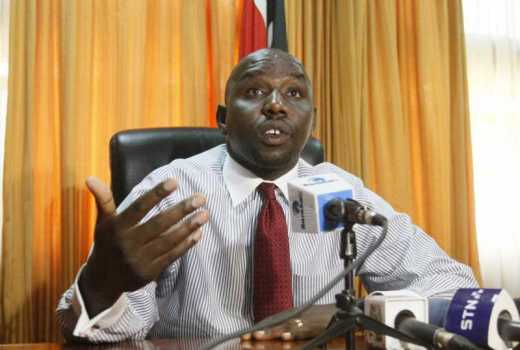 Counties urged to form department to deal with insecurity