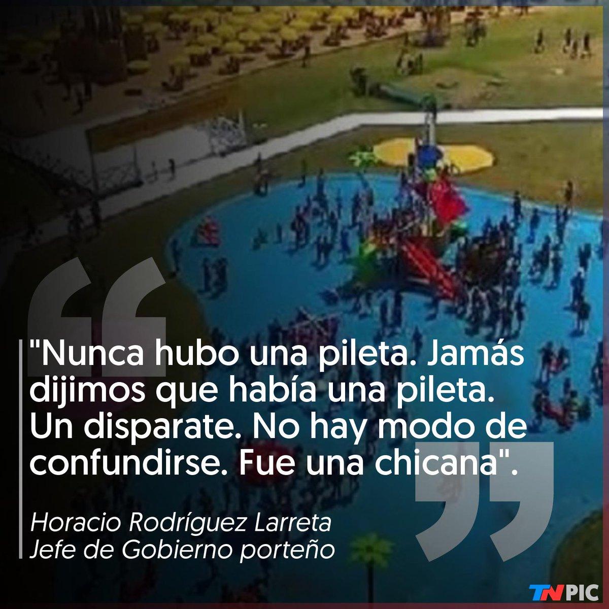 """test Twitter Media - Horacio Rodríguez Larreta defendió """"Buenos Aires Playa"""" y dijo que las críticas a los juegos con rociadores de agua fueron """"una chicana"""": """"Nunca dijimos que era una pileta"""" https://t.co/7qk1PD4JUU https://t.co/ROhbKr6ZDK"""
