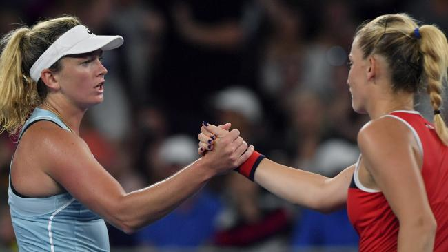 Coco Vandeweghe provided the ugly headlines in a day to forget for the USA