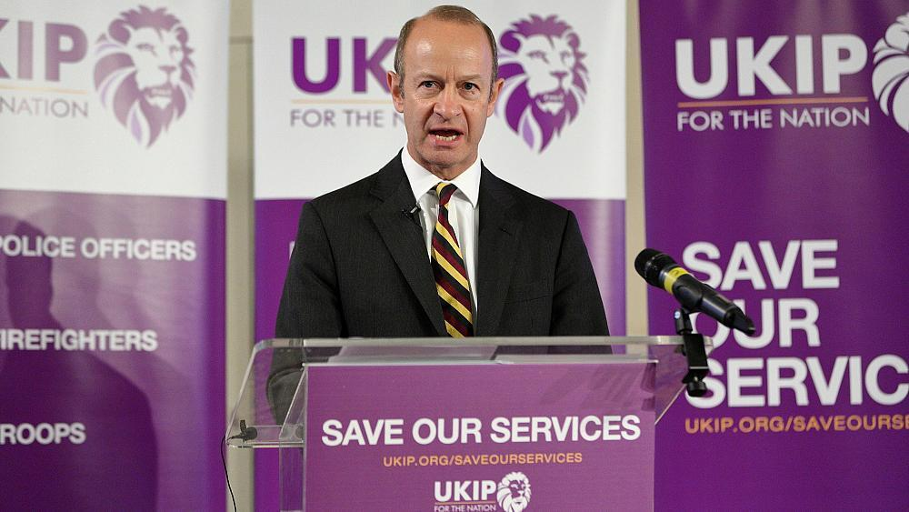 UKIP leader Henry Bolton splits with girlfriend over 'racist' texts