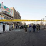 Suicide attack in Baghdad kills at least 16, wounds 65 - ministry says