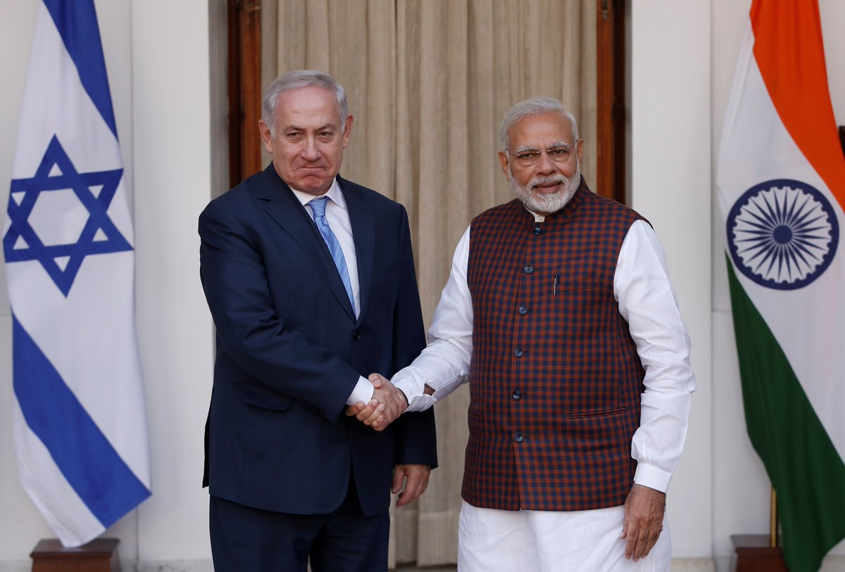 Netanyahu disappointed by India's Jerusalem rejection