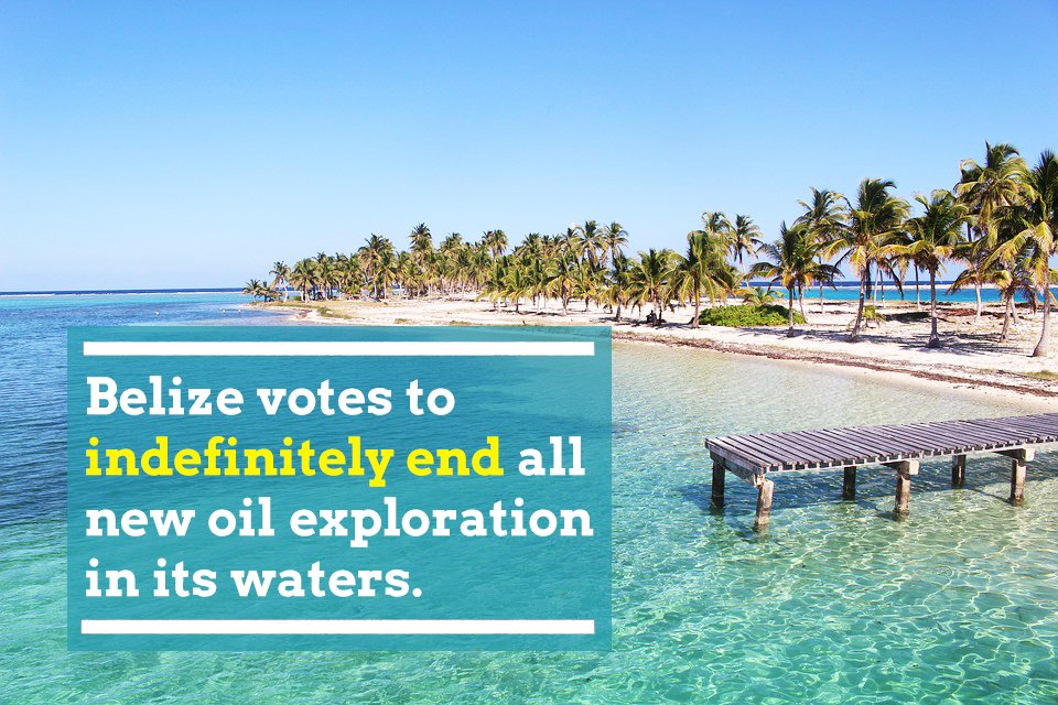 test Twitter Media - #Belize decided that the preservation of its coral reefs, the longest in the Western Hemisphere, and its pristine waters were more important in the long run than petrodollars today. 👏👏👏  👉 Urgent action that is needed to protect our planet and existence. Therefore, #divest! https://t.co/rbJPX4oP7b