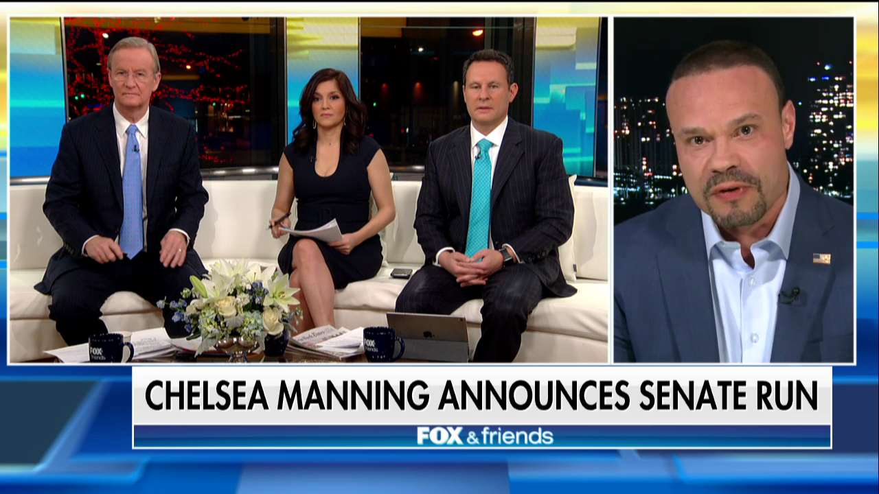 .@dbongino: '[Chelsea Manning] is a traitor to the United States.' https://t.co/IgAuD8Z1bV
