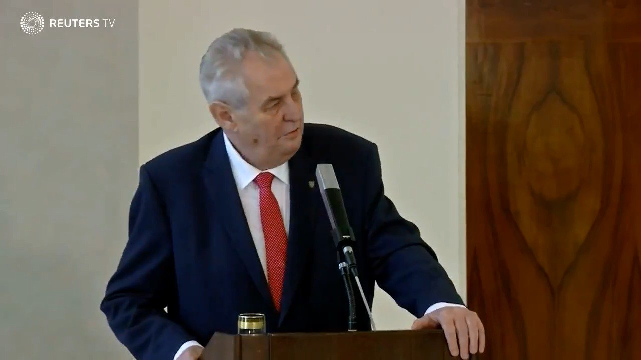 Pro-Russian Czech president faces challenge from newcomer in runoff election https://t.co/jMd6Y3uSlZ Via @ReutersTV https://t.co/0BwBhrDpuL