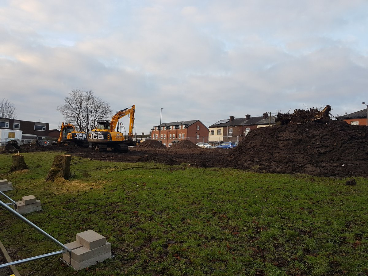 test Twitter Media - New build week one....temporary car park started (w/c 8.1.18) #castlebrooknewbuild https://t.co/GagddPCUon