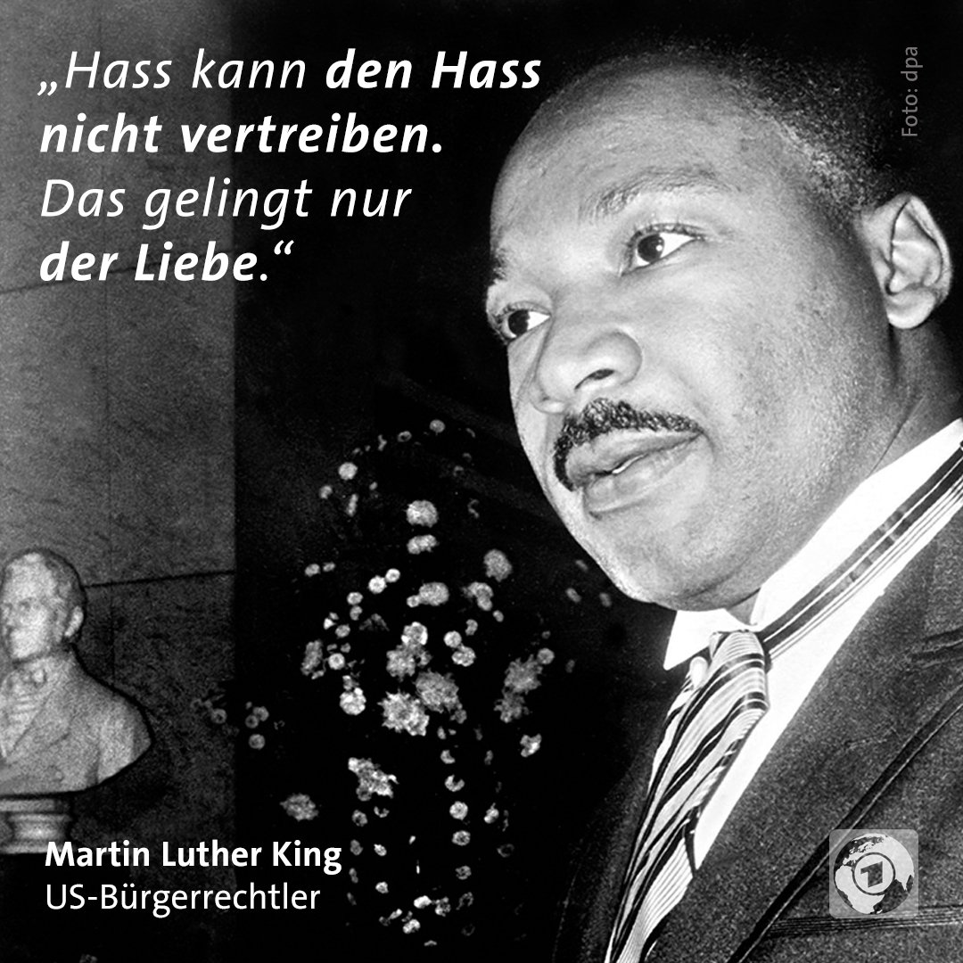 RT @tagesschau: Heute ist Martin-Luther-King-Tag. #MLKDay https://t.co/ihprFMkQSu
