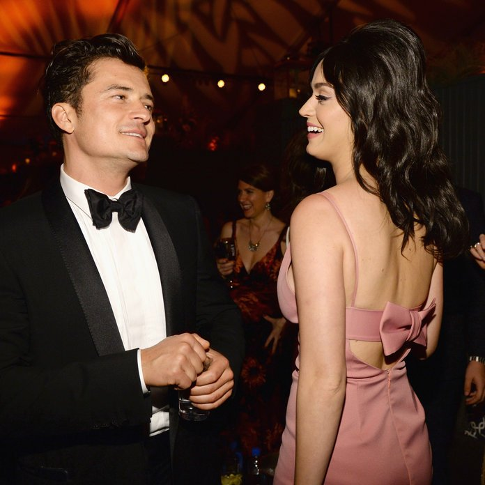 Exes Katy Perry and Orlando Bloom Spotted on Holiday in the Maldives