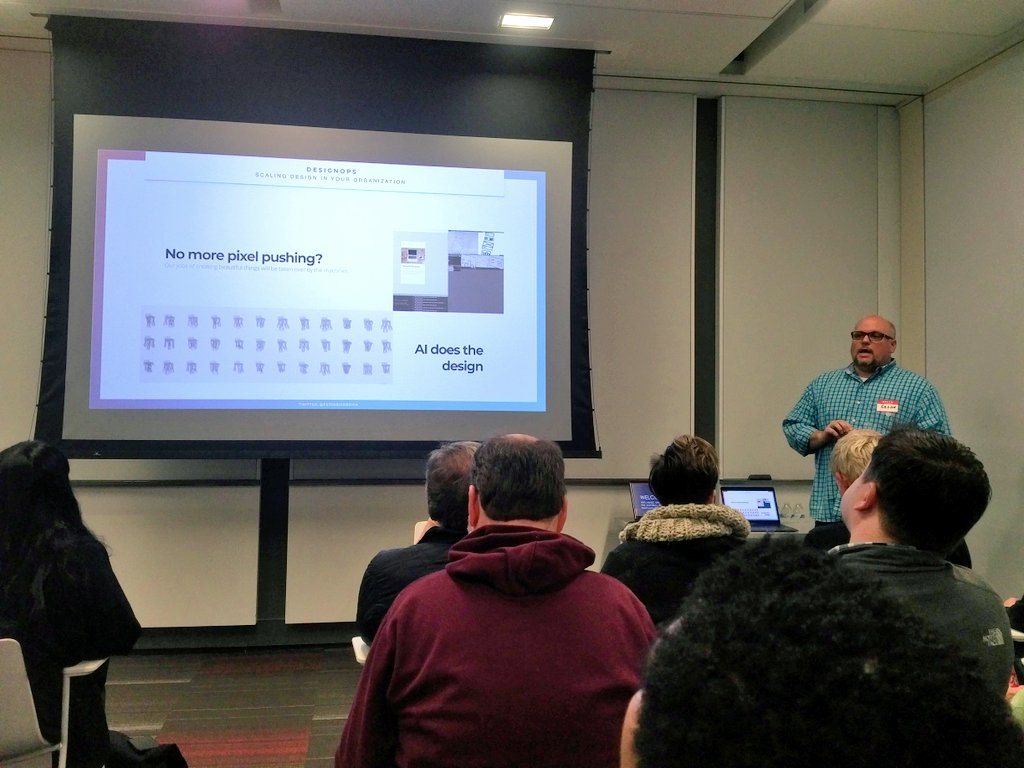 Started off the morning at #UXcampDC by attending a great Design Ops presentation from @periodicdesign. #UX #design https://t.co/mpgL4SzqbX
