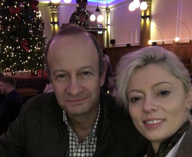 UKIP leader splits from model girlfriend over her racist Meghan Markle remarks