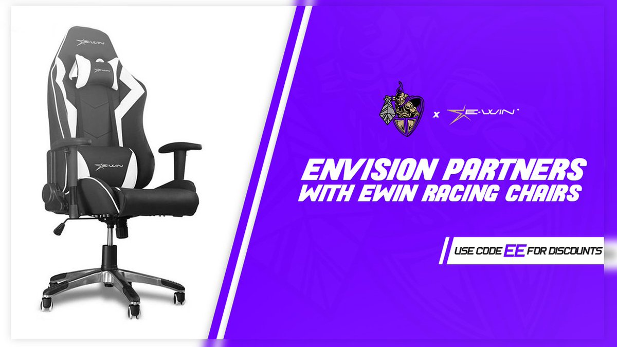 Go treat your self with a new Chair. @EwinRacing has some of the best in the business. Go check them out and use code EE at checkout! https://t.co/QyLLpPGNZm