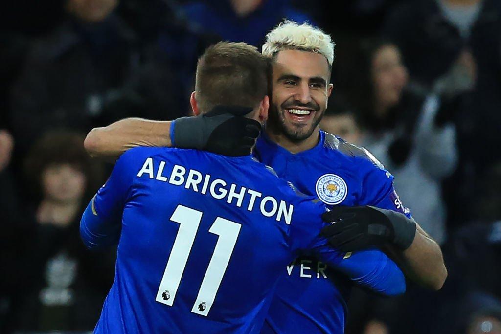 Leicester v Fleetwood  Mahrez  mahrez