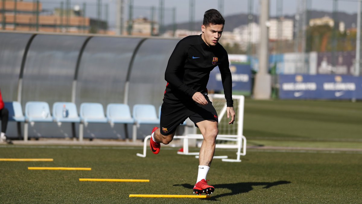 RT @FCBarcelona: ???? @Phil_Coutinho continues his recovery from injury ???????? https://t.co/0i95hKly2d