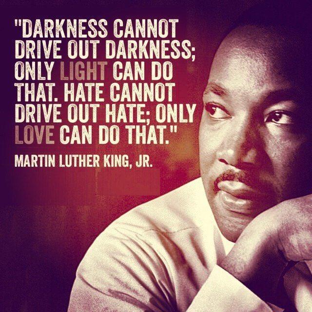 RT @JimGaffigan: The timeless wisdom of Martin Luther King #MLKDay https://t.co/U2kHCWZLZM