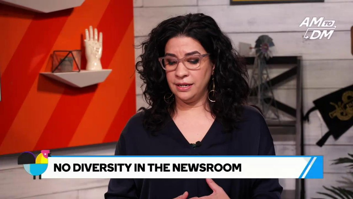 RT @AM2DM: Elitism and nepotism play a big role in the lack of diversity in newsrooms, says @tanzinavega https://t.co/pcvHpgsq7f