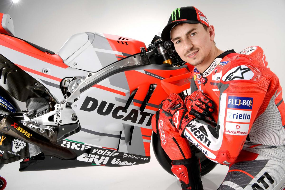 "test Twitter Media - ""The team and the bike are ready to win"" - @lorenzo99  Five-time World Champion talks 2017 and the year ahead as the Ducati Team present their project for the season  #MotoGP 