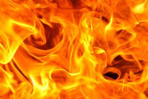 Children burnt to death in night inferno