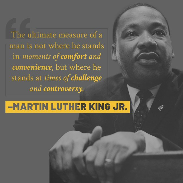 test Twitter Media - Dr. Martin Luther King, Jr. was not only one of the most influential leaders of the civil rights movements, but also fought to end the Vietnam War and protect the rights of union workers. #MLKDay #KingDayofService https://t.co/xSBwPbHJPc