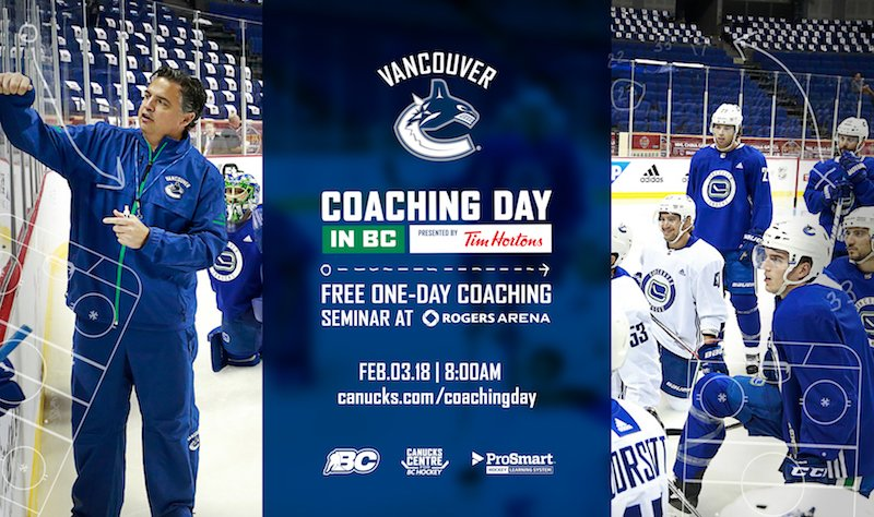 test Twitter Media - The @Canucks and BC Hockey 14th Annual Coaching Day in BC is @RogersArena on February 3. Register here: https://t.co/CwHt9CCPr1 https://t.co/P4Ee6QEdtJ