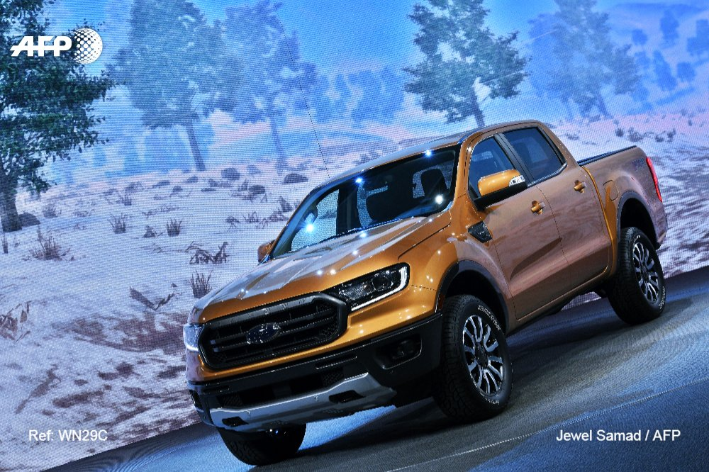 At Detroit auto show, trucks and SUVs are king