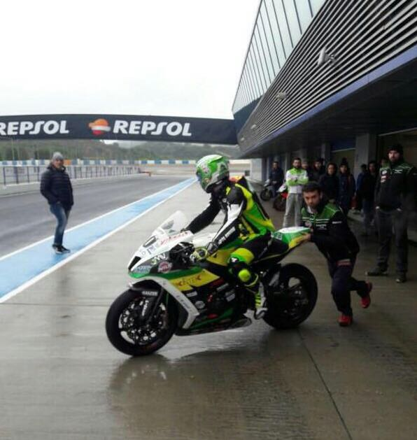 test Twitter Media - Winter test for @RomanRamos40: Check ✅🙌 #WorldSBK https://t.co/qA8TVMtfLy