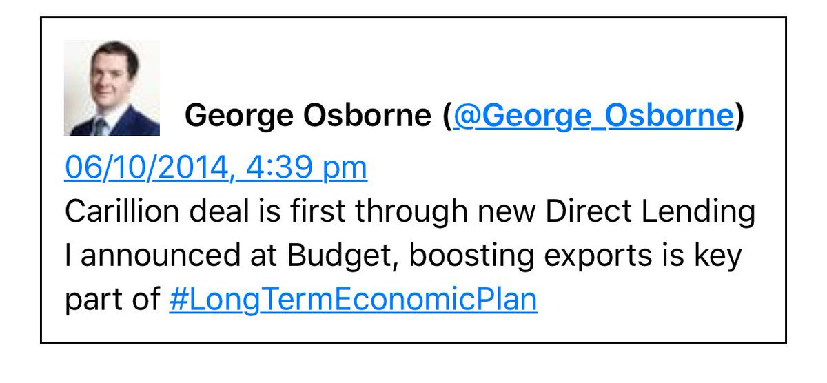 George Osborne, financial genius... Whatever happened to him? https://t.co/gAlwuF2OLO