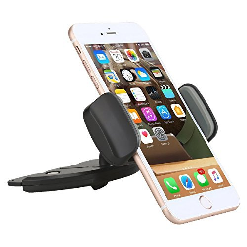 Car Mount, AEDILYS Universal 360 Easy CD Slot GPS Phone Car Mount Holder...