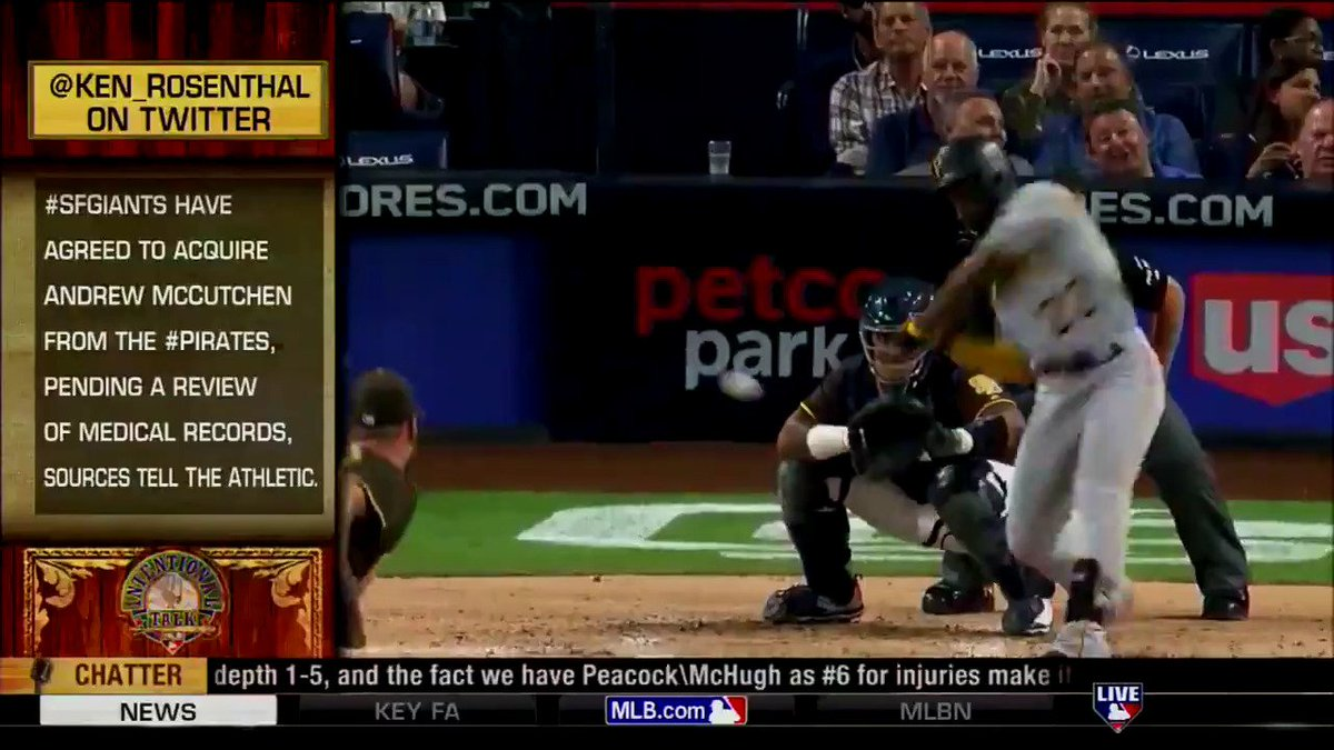 .@ChrisRose and @KMillar15 react to @Ken_Rosenthal's report that the #SFGiants have reportedly reached an agreement to acquire Andrew McCutchen. #IntentionalTalk https://t.co/EEIMgTHvdW