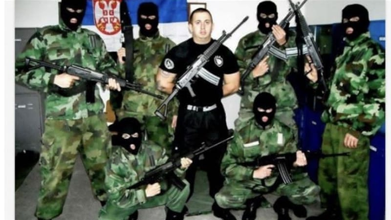 Why is that a Russia-trained paramilitary force in Bosnia?
