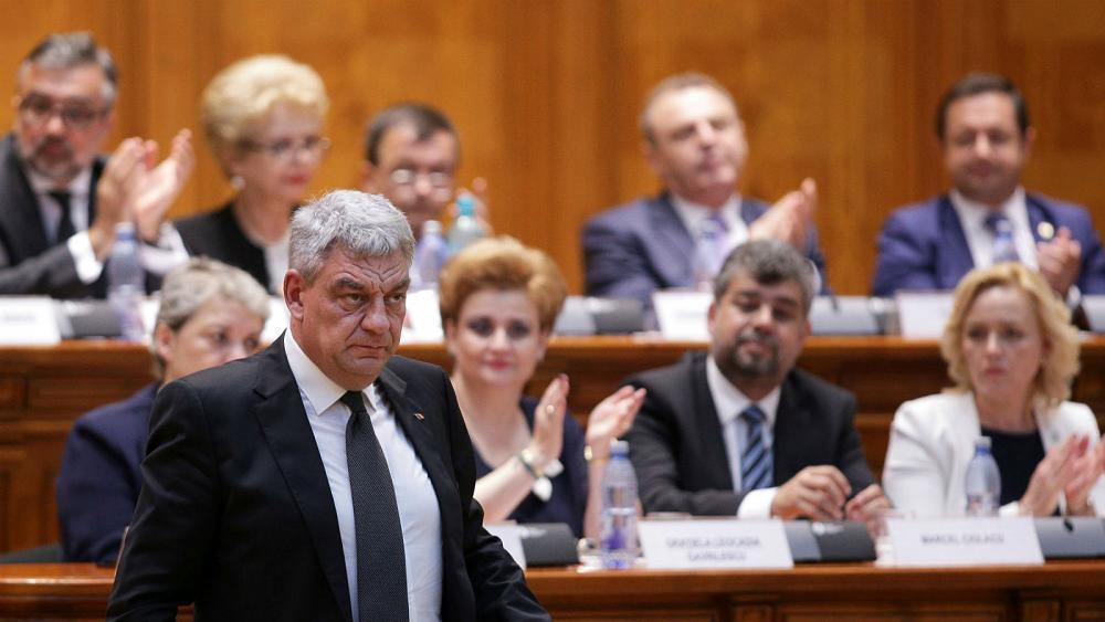 Romanian PM Mihai Tudose resigns after losing the support of his Social Democrat party