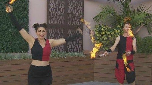 Playing with Fire: The art of dancing with flames