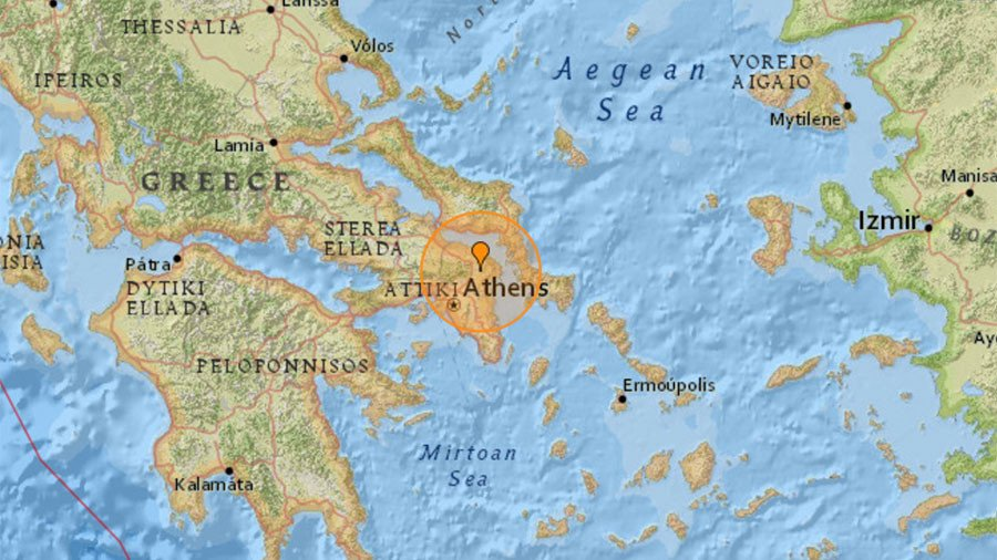 4.3 magnitude quake rattles Greece, tremors felt in