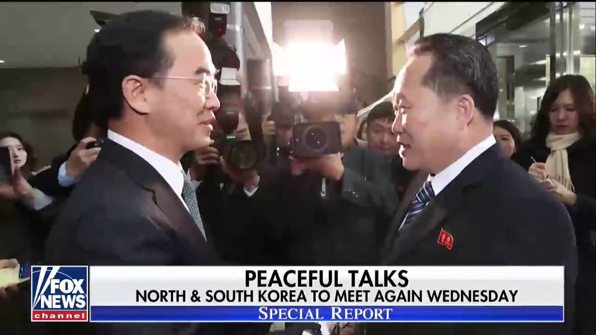 North and South Korea continue talks to improve relations