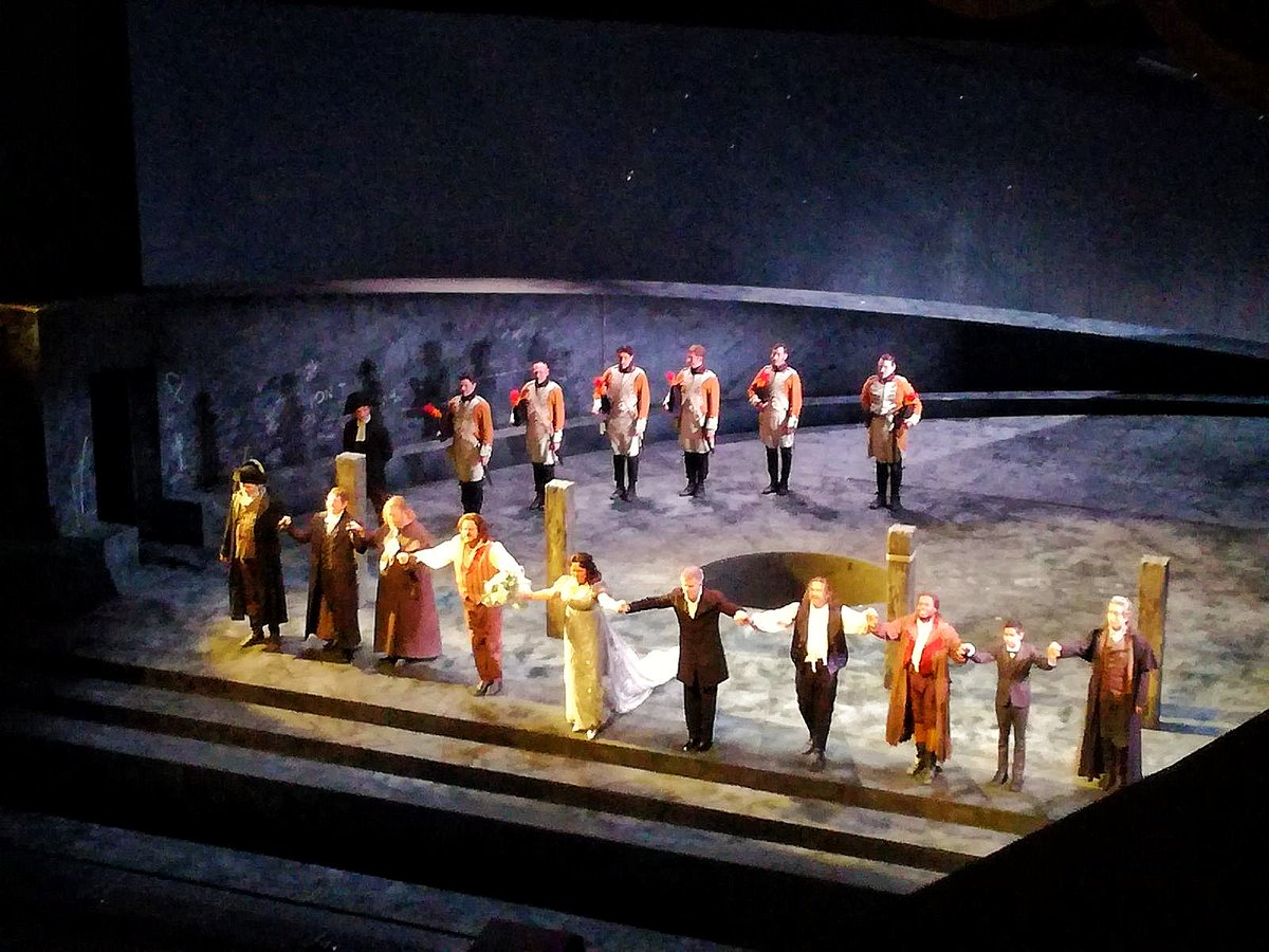 test Twitter Media - IMO #ROHTosca first night was dramatic, moving & the stuff of an Italian opera. Triumphant performance all round from @pieczonka_a, the Italian sheen @MalteseTenor and a homourous @GeraldFinley. The @ROHchorus sang from their heart, and the astute ROH Orchestra were brilliant too https://t.co/V5mS2IzwhR