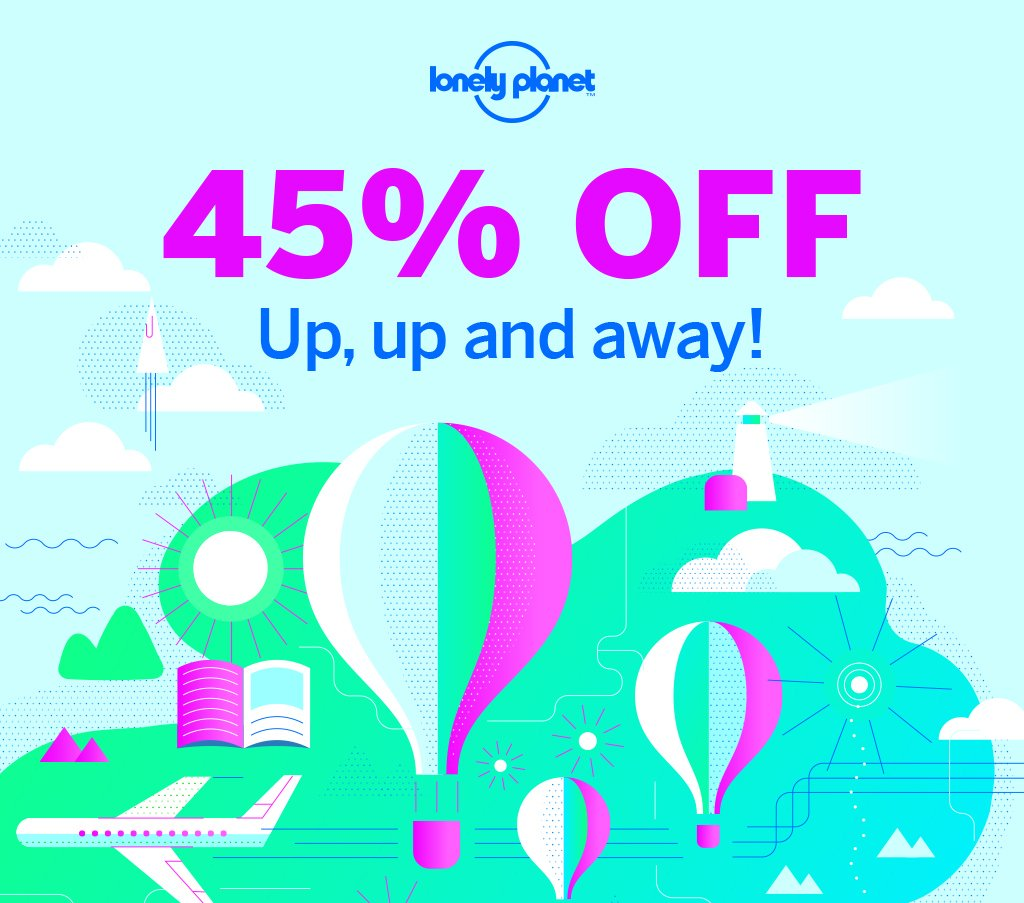 Get your 2018 #travel plans off the ground – grab 45% off EVERYTHING in our online shop! https://t.co/uiUrAnJFGD https://t.co/79NB7c2ZNi