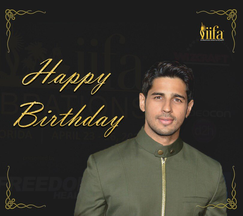 test Twitter Media - The actor who has swooned Bollywood with his charisma and utter good looks!  Join us in wishing the handsome hunk @S1dharthM a very Happy Birthday! #HappyBirthdaySidharthMalhotra https://t.co/a1MmTePkiF