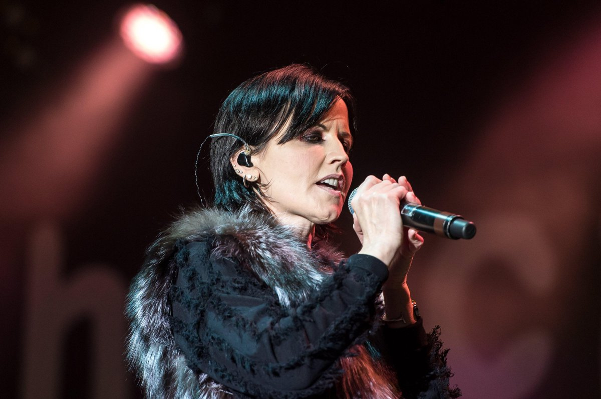 Dolores O'Riordan, voz del gru dolores o riordan