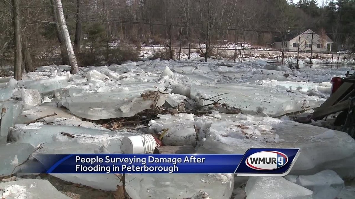 Residents, business owners assess flood damage caused by ice jam in Peterborough