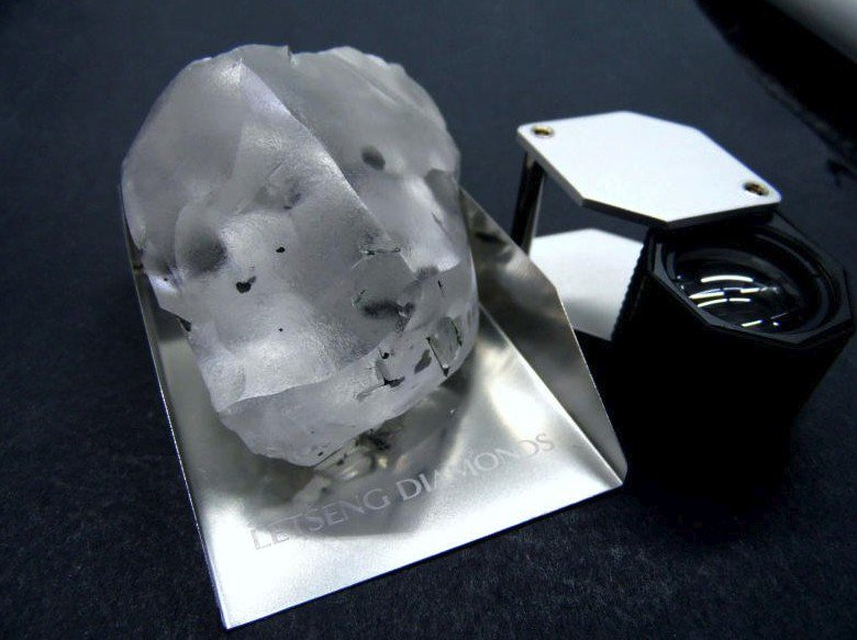 910-carat diamond found in Lesotho is world's fifth largest