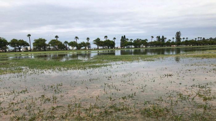 Four months of rain in a day as ex-Cyclone Joyce saturates Perth