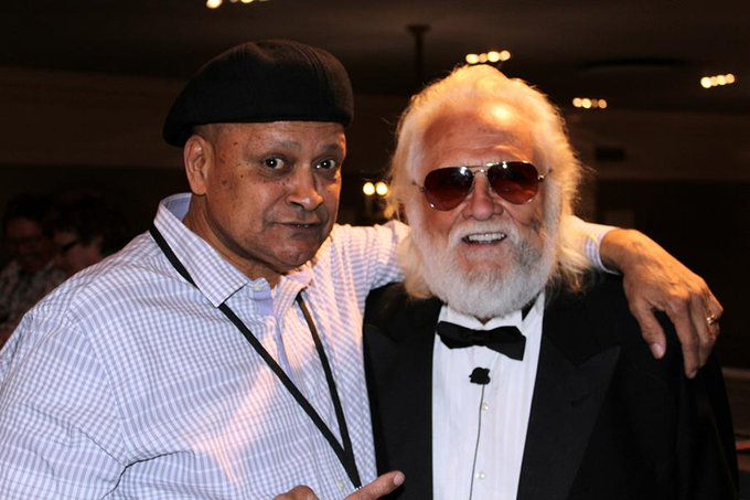 Belated happy birthday to friend of many years Ronnie Hawkins